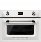 Комбинирана микровълнова и фурна SMEG SF4920MCB серия Victoria в бяло