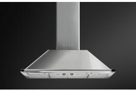 Стенен аспиратор SMEG KTR110XE серия Victoria  в инокс - неръждаема стомана