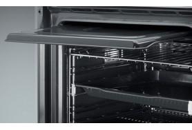 Ретро пиролитична фурна за вграждане SMEG серия Victoria SFP6925NPZE черна с хром