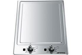 Плот за вграждане тепаняки с индукционно нагряване и две зони SMEG PGF30Т-1 серия Classica в неръждаема стомана