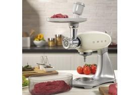 Универсална месомелчка SMEG SMMG01 за приготвяне на мляно месо, кайма, наденици и киббе