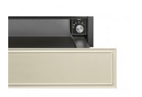Затоплящо чекмедже SMEG от ретро серията Cortina CPR715P в крем