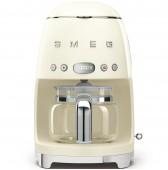 Кафе машина за шварц кафе в ретро дизайн СМЕГ и цвят крем SMEG DCF01CREU
