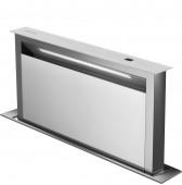 Даун драфт аспиратор за вграждане в плот SMEG KDD90VXBE  във бяло стъкло и неръждаема стомана