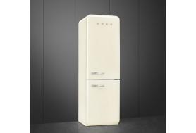 Луксозен ретро хладилник SMEG FAB32RCR3 в крем със заоблени ретро врати