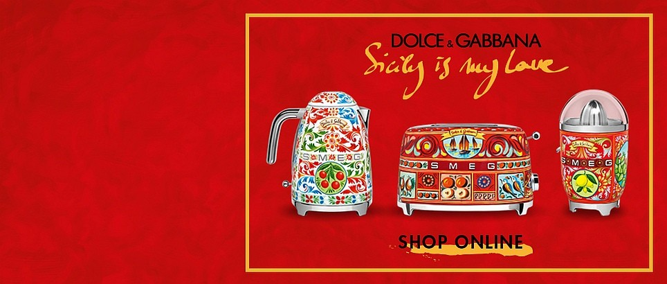 SICILY IS MY LOVE - SMEG и Dolce & Gabbana