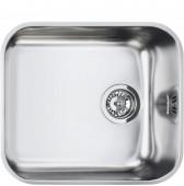 Мивка за под плот от полирана неръждаема стомана SMEG UM45